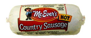 McEver Hot Country Sausage