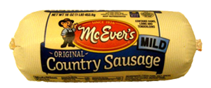 McEver Mild Country Sausage